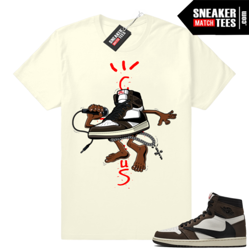Travis Scott 1 Jordan tees