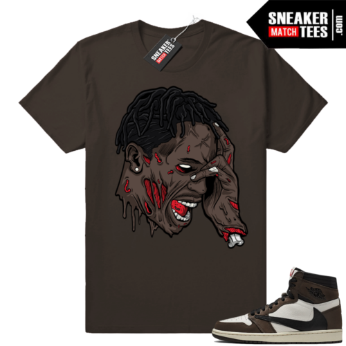 Travis Scott 1s Jordan match tees