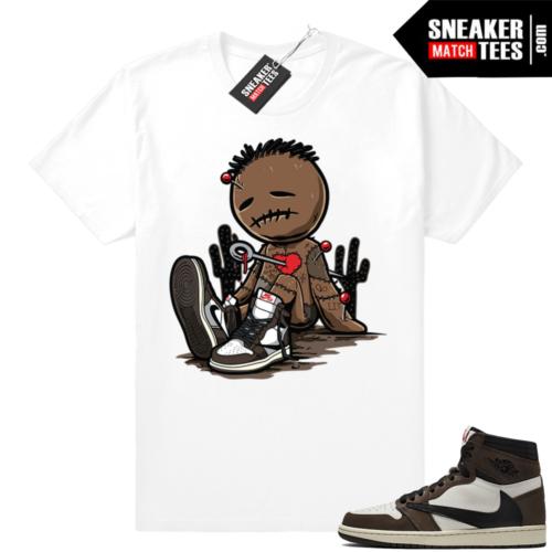 Travis Scott 1s Jordan shirts
