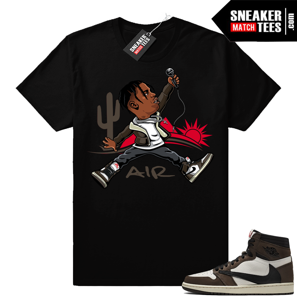 Travis Scott 1s Sneaker Match Tees