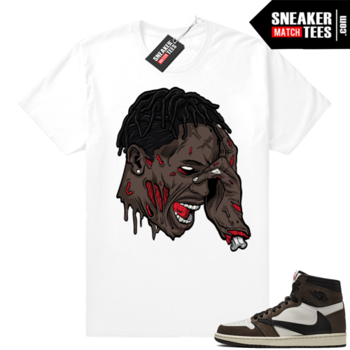 Travis Scott 1s Sneaker Match tee shirts