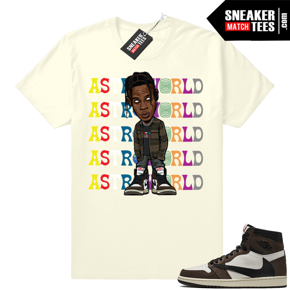 Travis Scott 1s Sneaker shirts