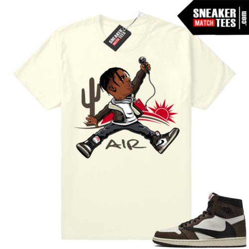 Travis Scott 1s match sneakers