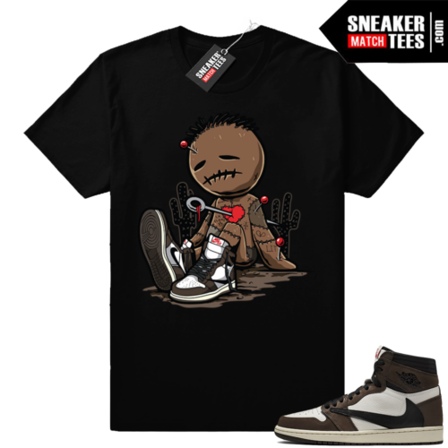 Travis Scott 1s sneaker match shirts