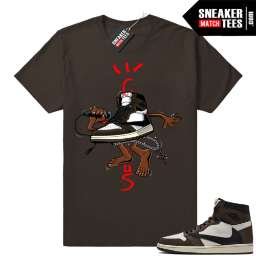 Travis Scott Jordan 1 shirts