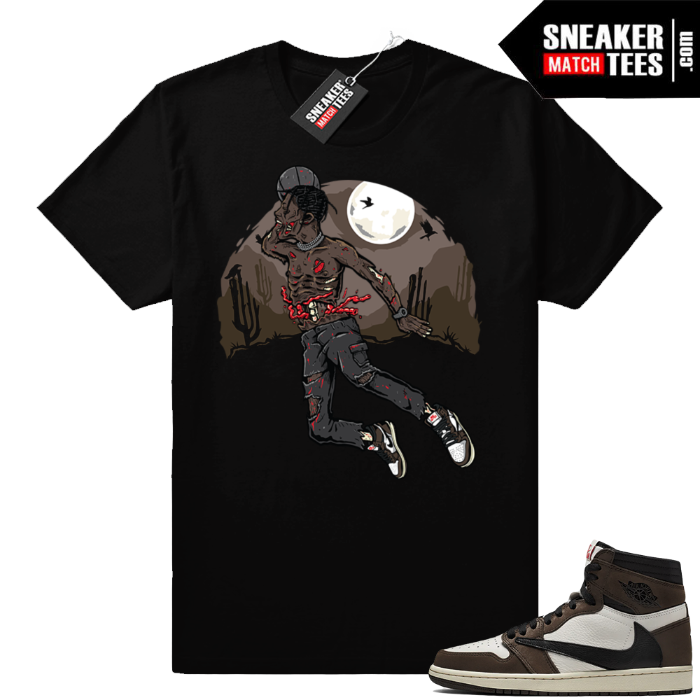 Travis Scott Jordan 1s sneaker apparel