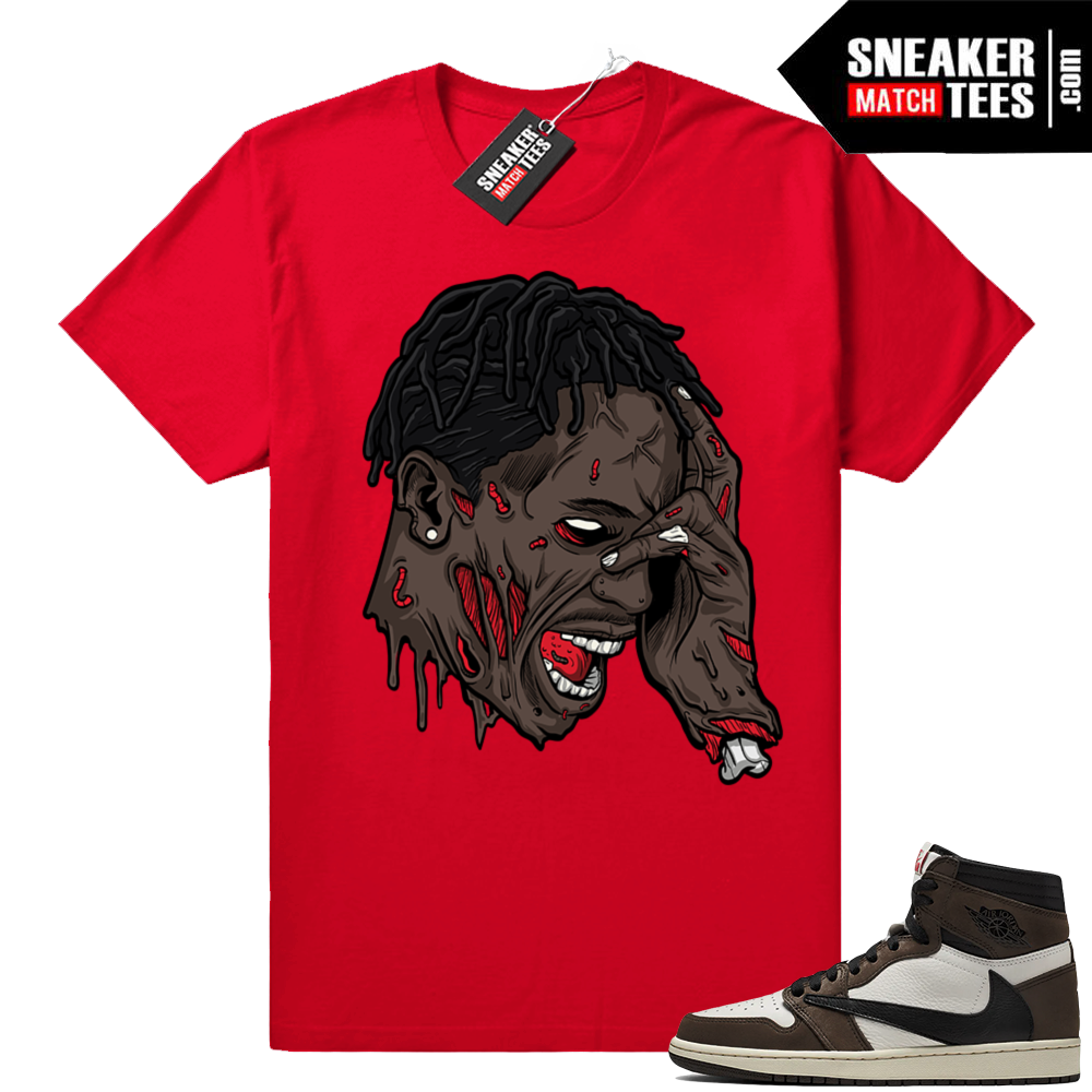 Travis Scott Jordan 1s tees