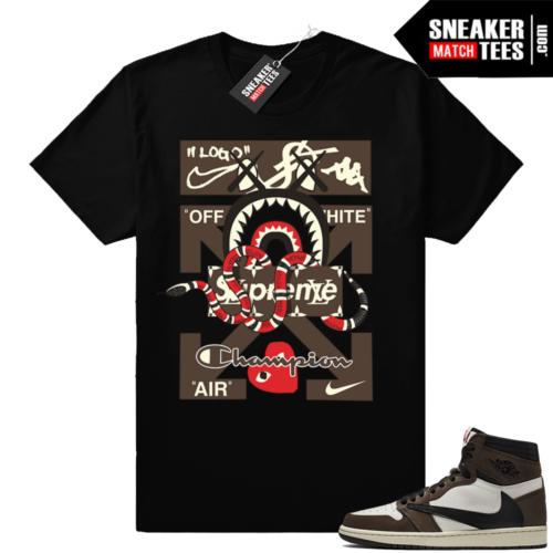 Travis Scott shirts Jordan 1