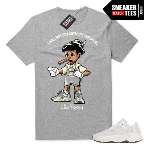 Yeezy 700 Analog Sneakerhead Pinocchio tee