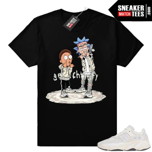 Yeezy 700 sneaker tee shirt Analog