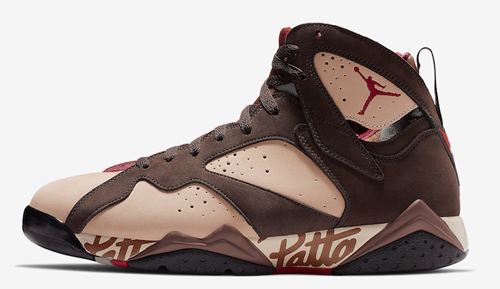 Jordan release dates June Jordan 7 Patta