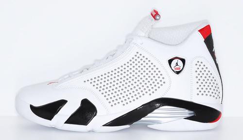 Jordan release dates June Supreme 14s white