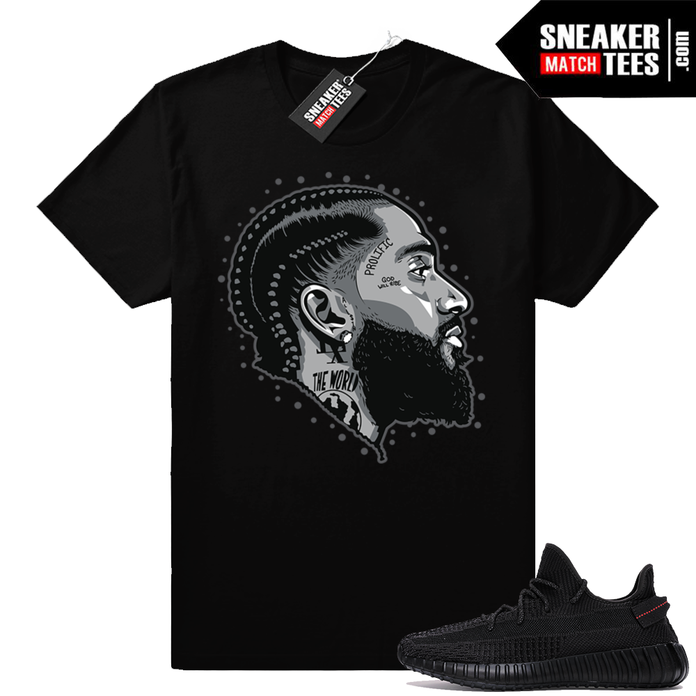 Match Yeezy Black V2 shirts