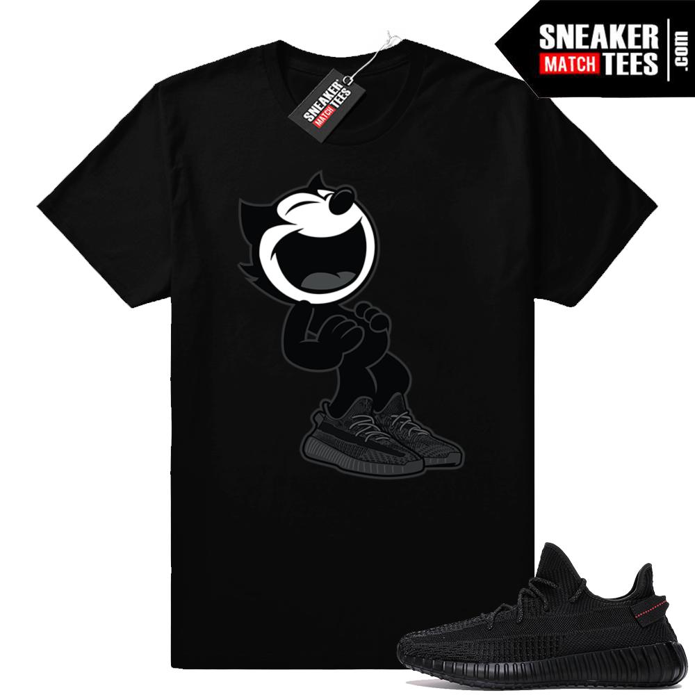 Shirts matching Yeezy Boost 350 V2 Black