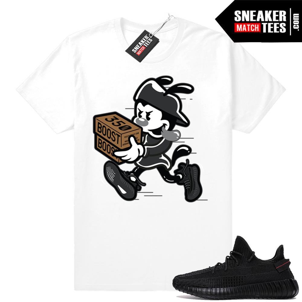 Shirts to match Black Yeezys