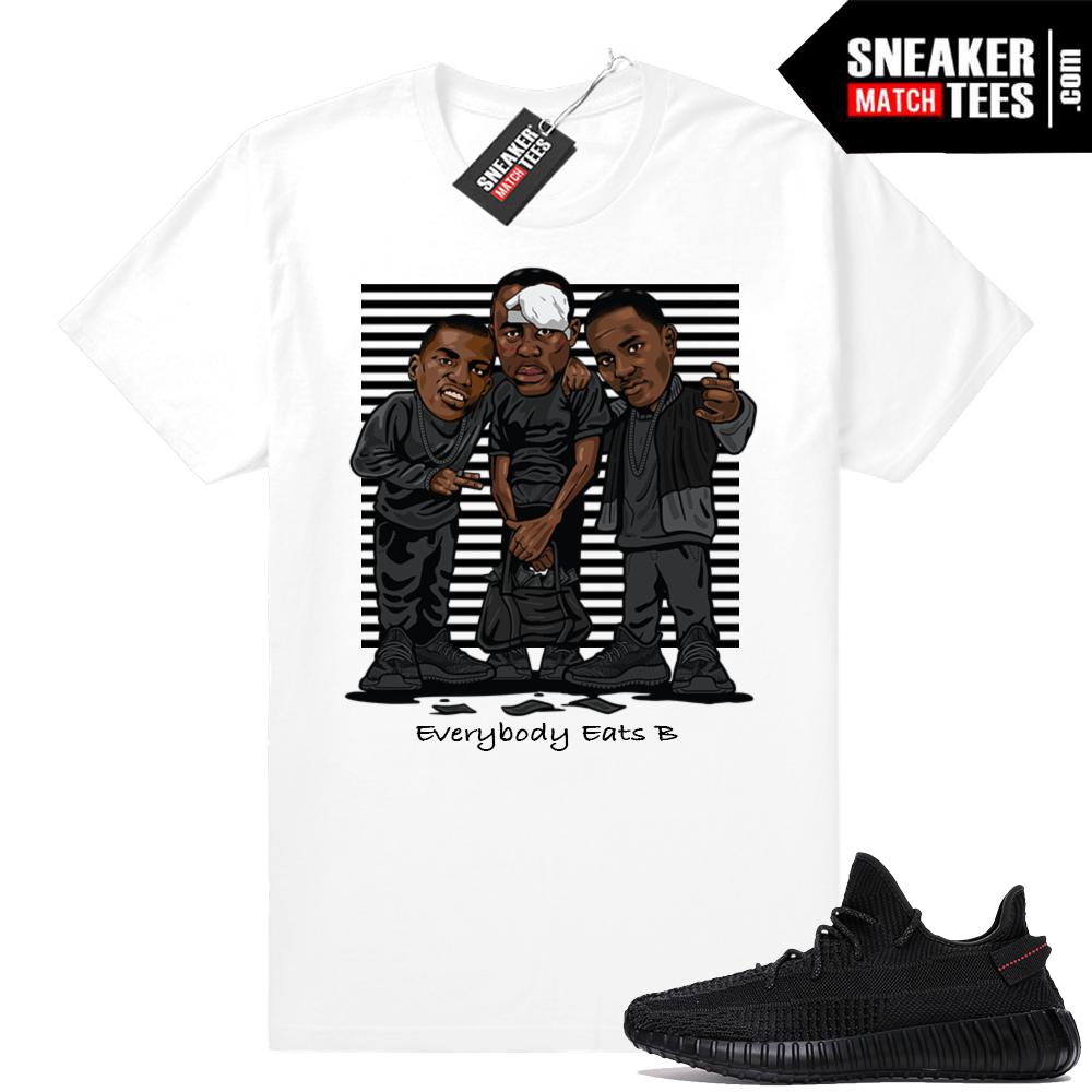 Sneaker Match Yeezy Boost Black