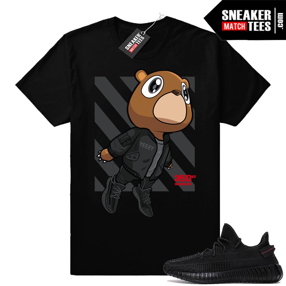 Sneaker t-shirt Yeezy 350 V2 Black