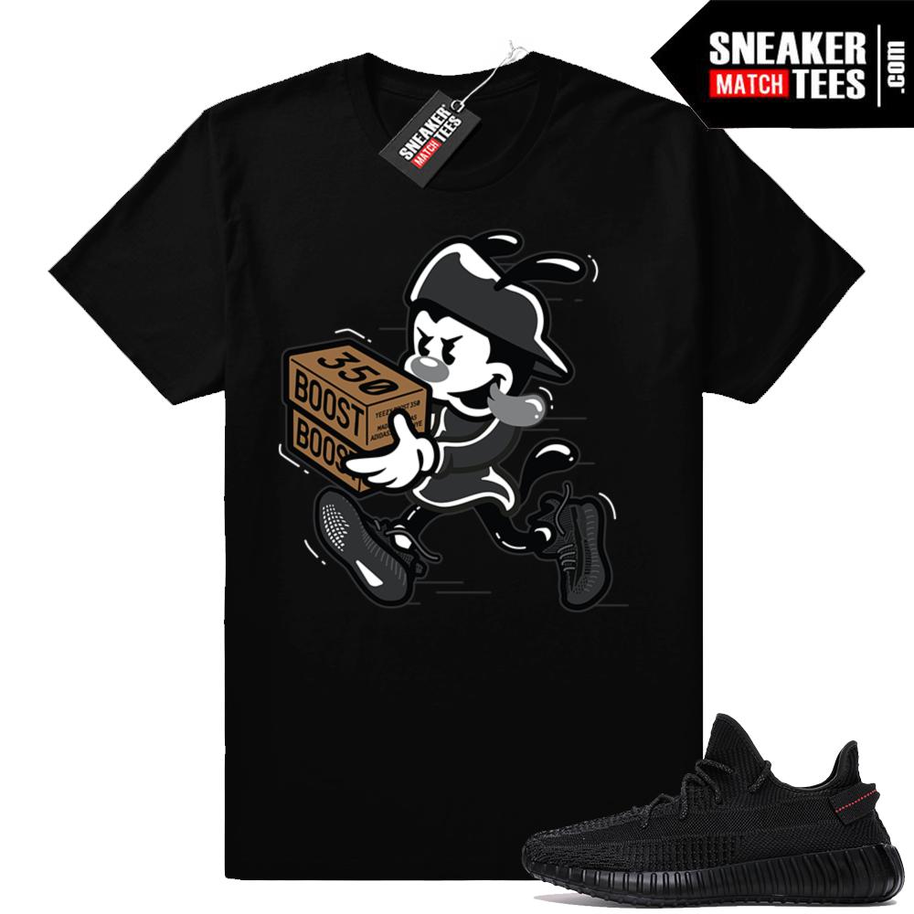 Sneaker tee Yeezy 350 V2 Black