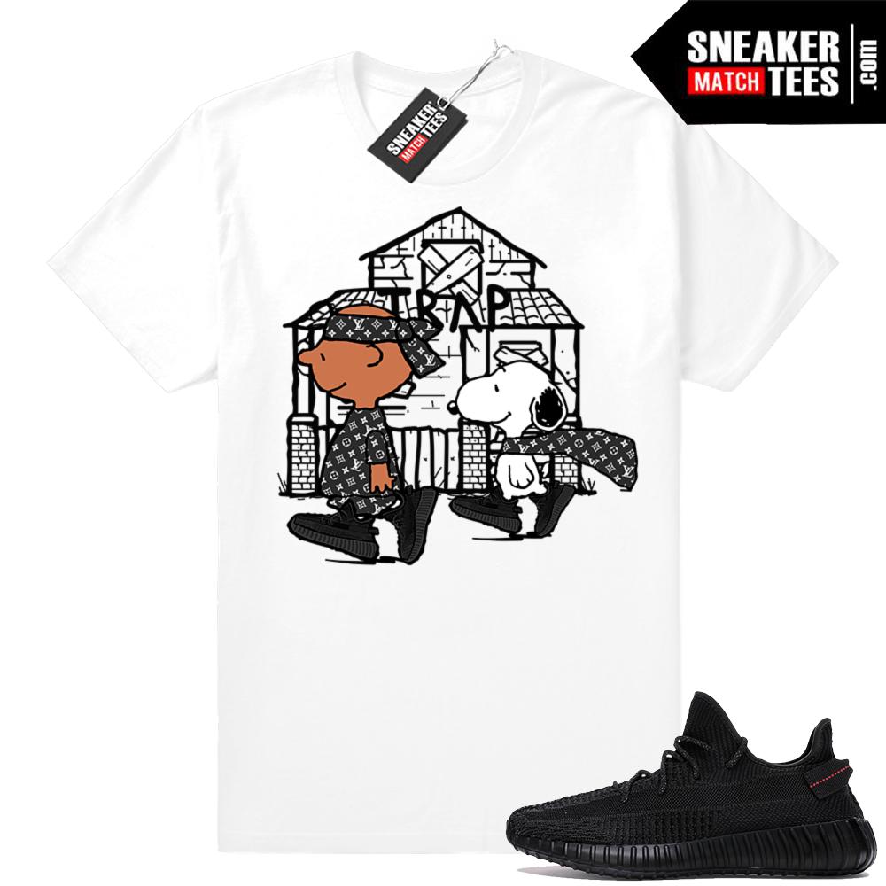 Sneaker tees Black Yeezys