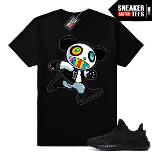 Sneaker tees Yeezy 350 V2 Black