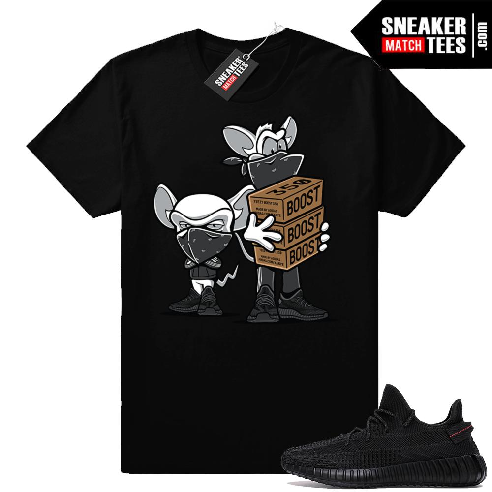 Yeezy Boost 350 V2 Black streetwear shirts
