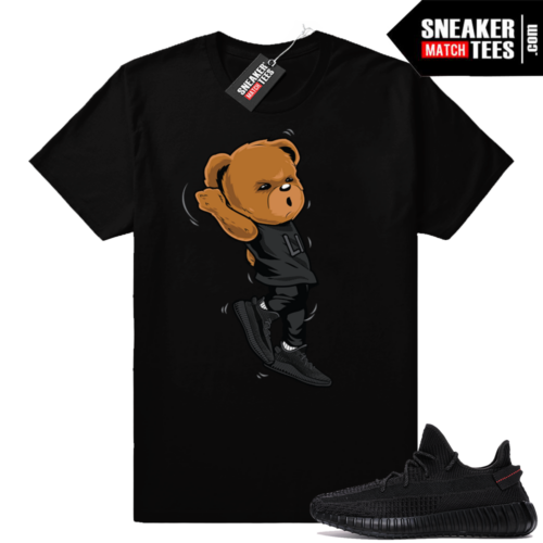Yeezy Boost black sneaker tees