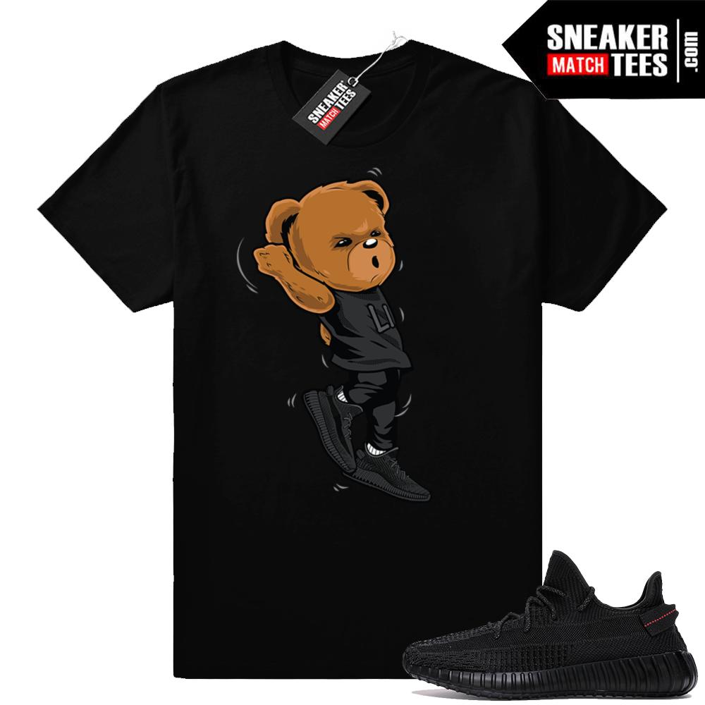 Yeezy Boost black sneaker tees
