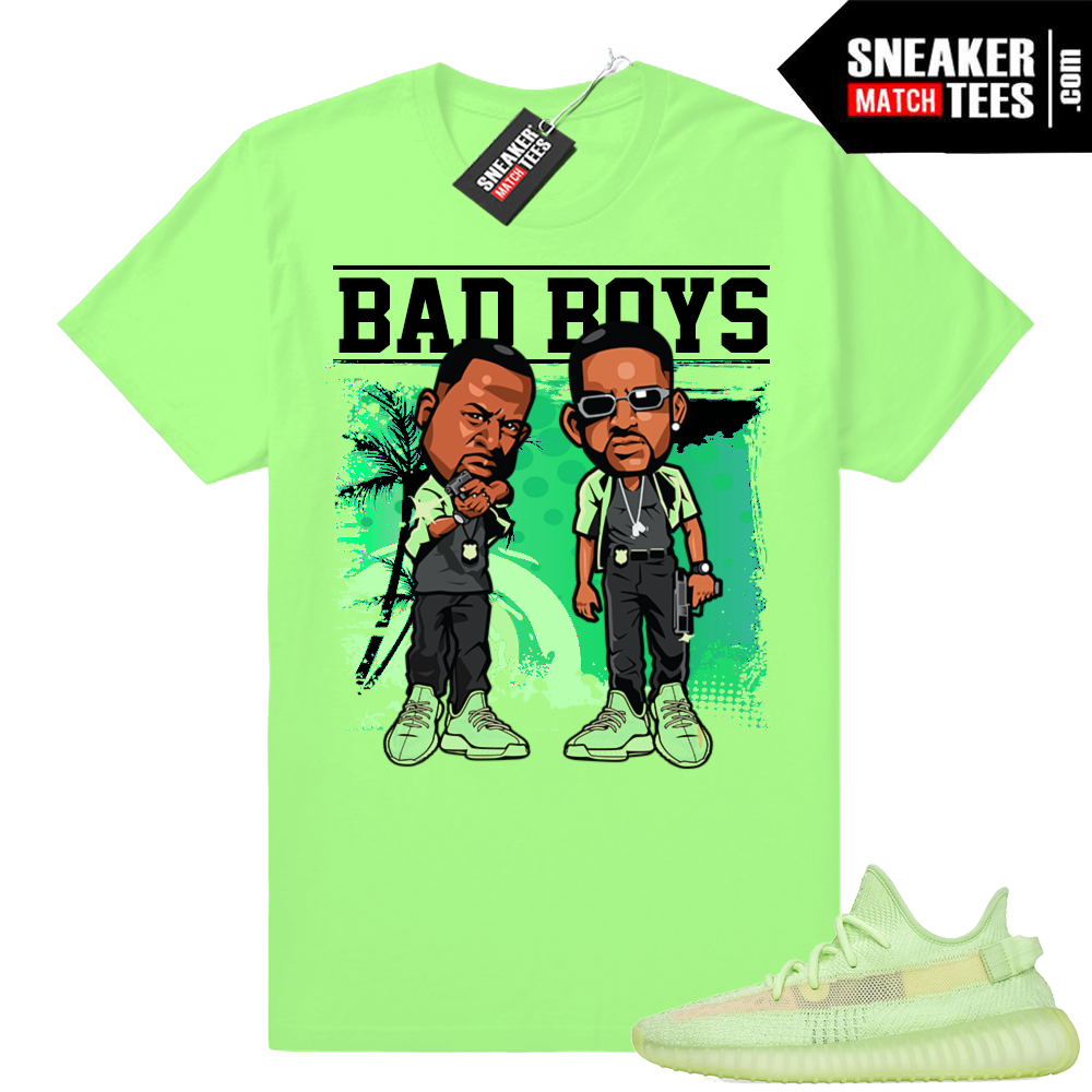 Yeezy Glow Bad Boys t-shirt
