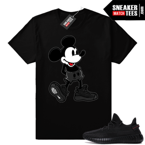 Yeezy Match shirts Black Yeezy Boost