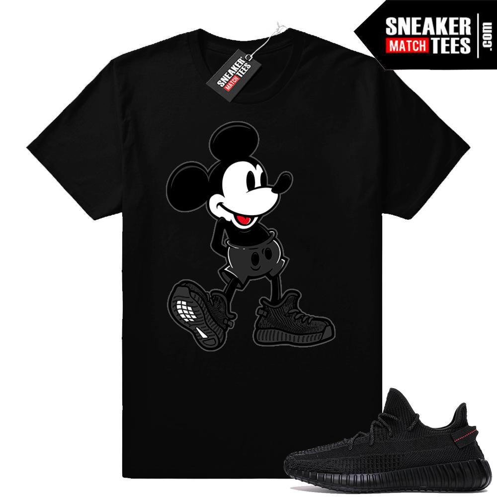 Yeezy Match shirts Black Yeezy Boost