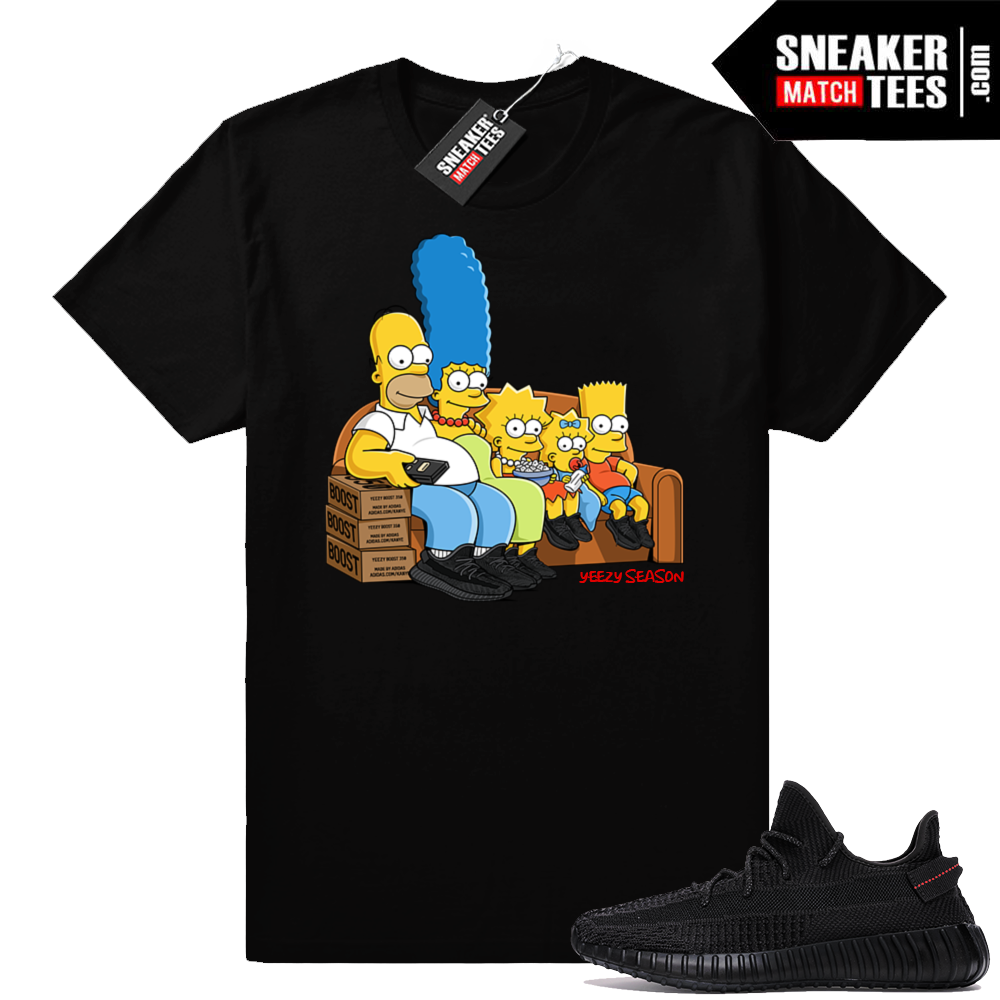 Yeezy Season t-shirt match Black Yeezy