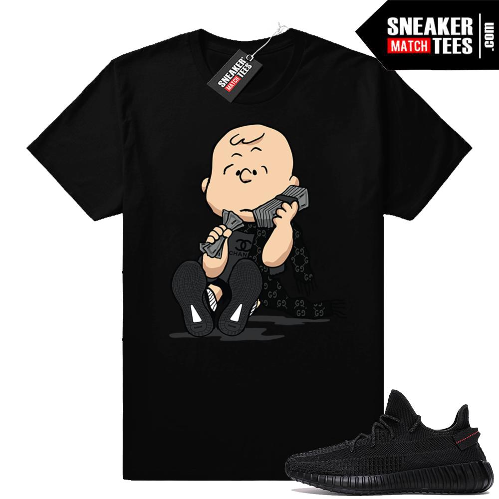 Yeezy Sneaker Match Black 350 V2