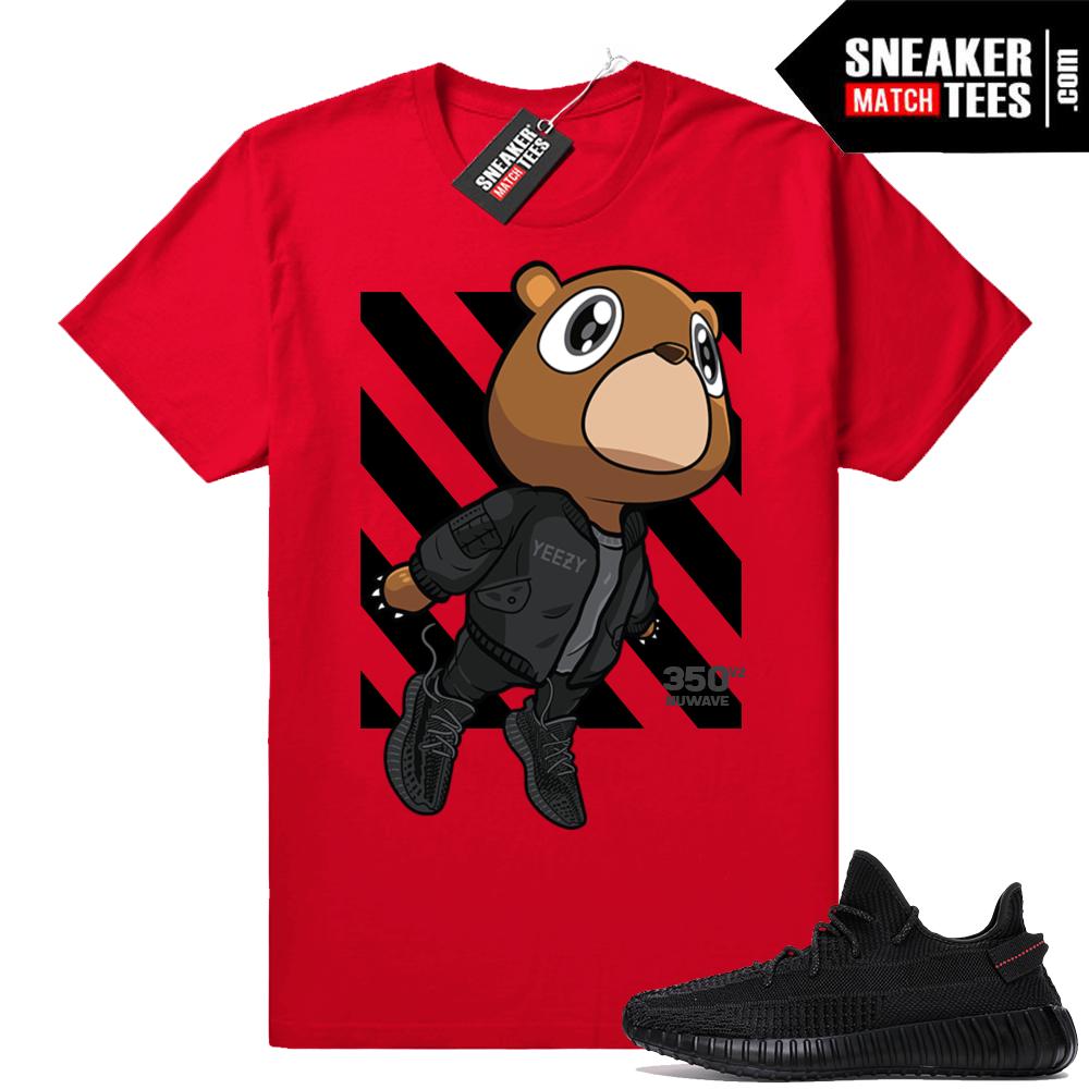 Yeezy black shirt matching