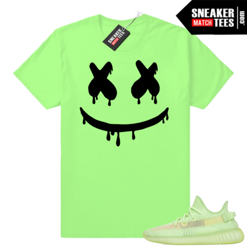 Yeezy boost 350 Glow Smiley Drip tee