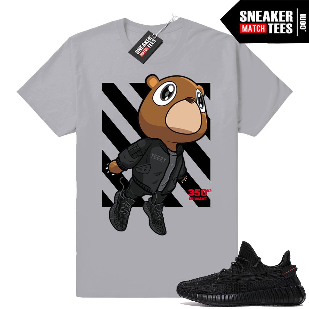 Yeezy sneaker t-shirt Black V2
