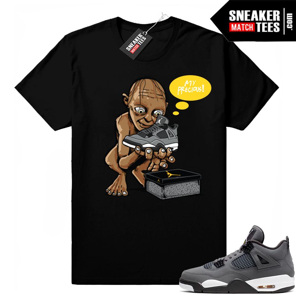 Air Jordan 4 clothing match tees