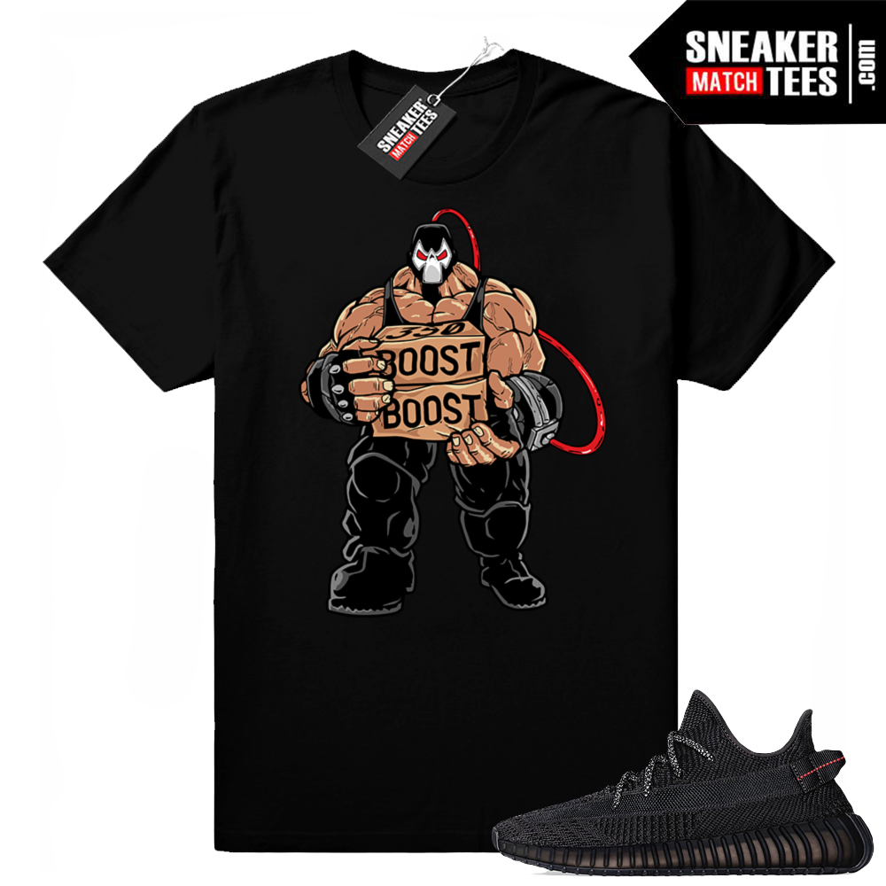 Black Yeezy Boost Shirts