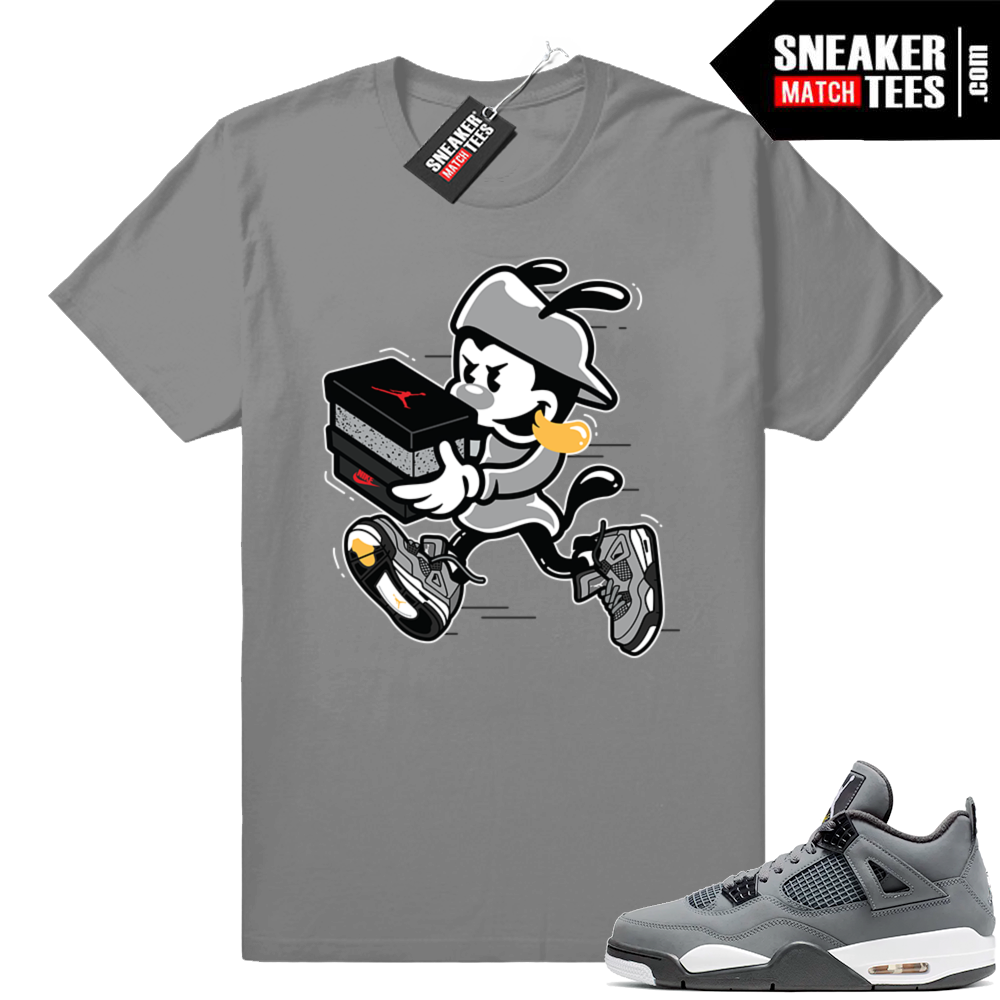 Cool Grey 4 Double up tee