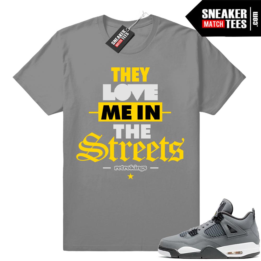 Cool Grey 4 match Shirt outfits