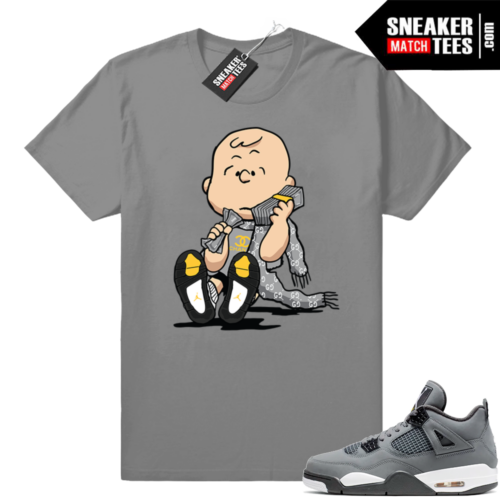 Cool Grey 4 shirt match