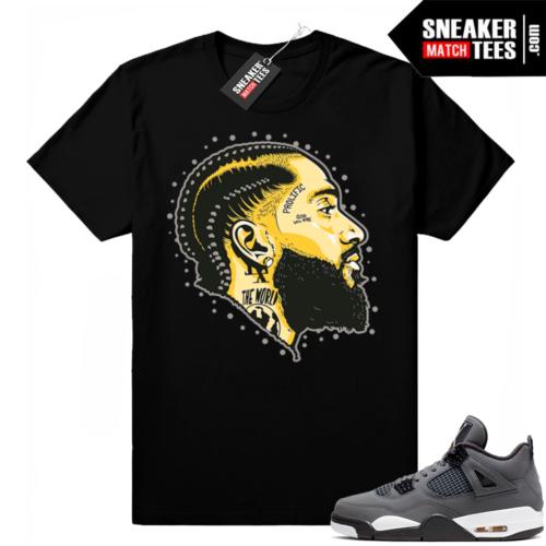 Cool Grey 4s sneaker matching tees