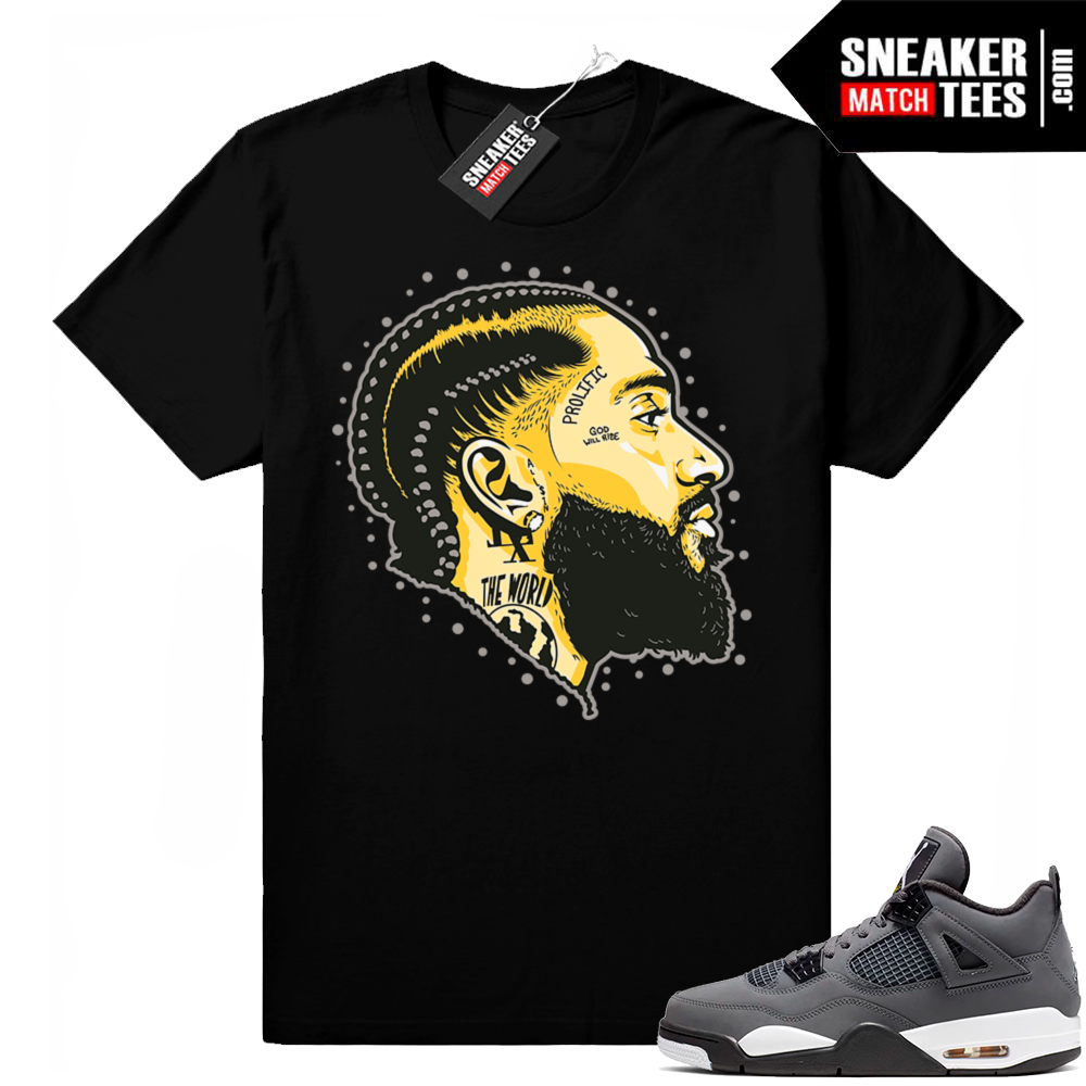 Cool Grey 4s sneaker matching tees