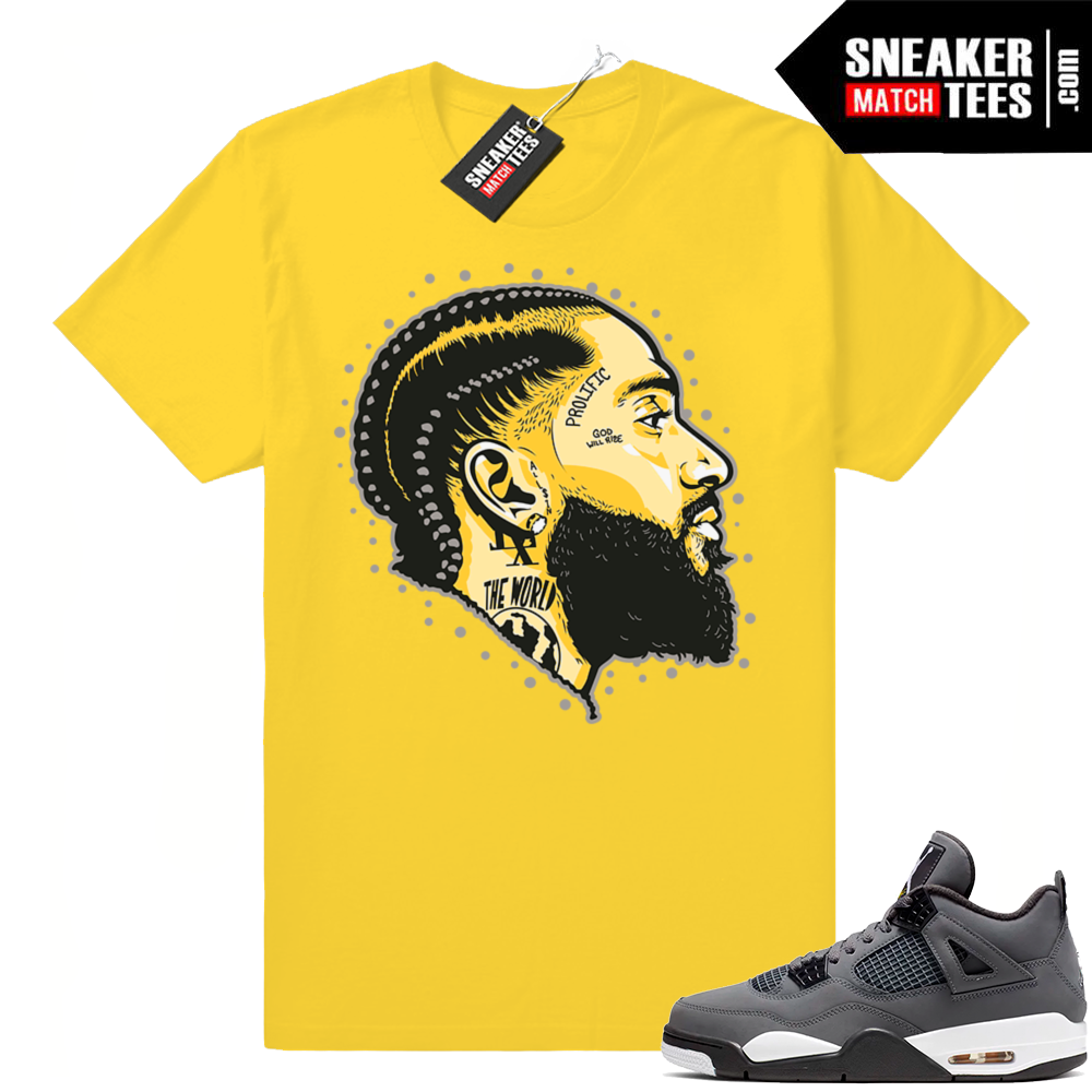 Cool Grey Jordan 4 Shirts Jordan Match Clothing Shop