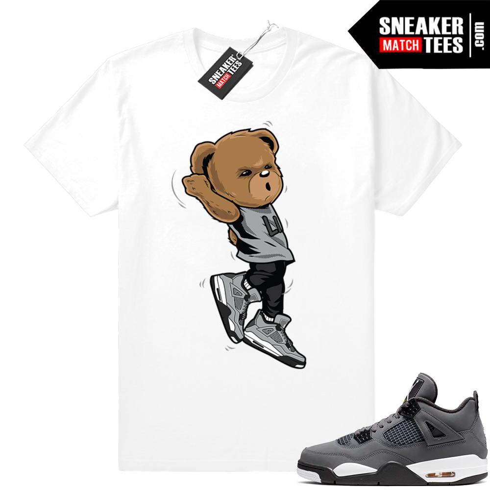 Cool Grey Jordan 4 sneaker tees