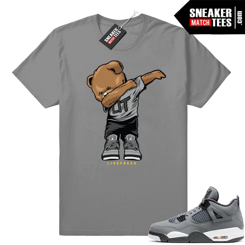 Shirts match Jordan 4 sneakers