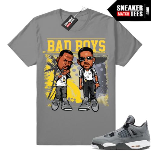 Jordan 4 Cool Grey Bad Boys t-shirt