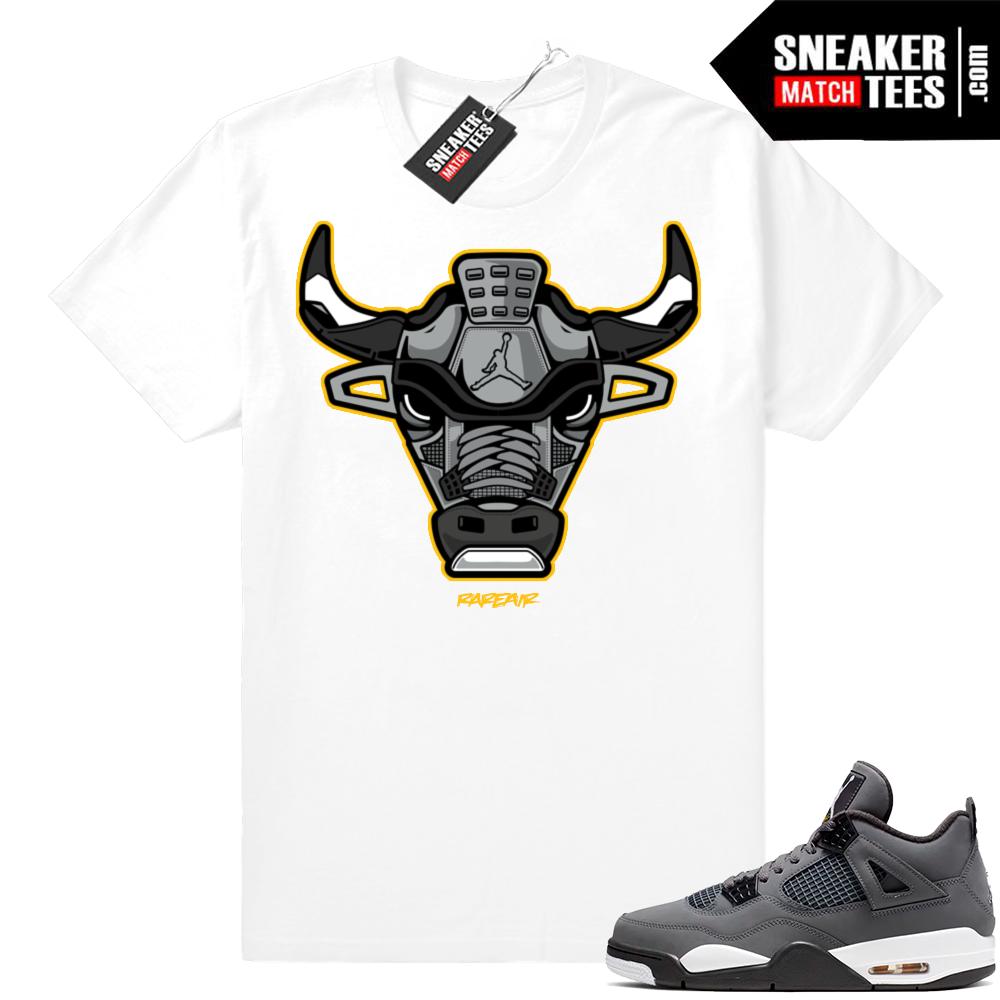 Jordan 4 Cool Grey match sneaker tees