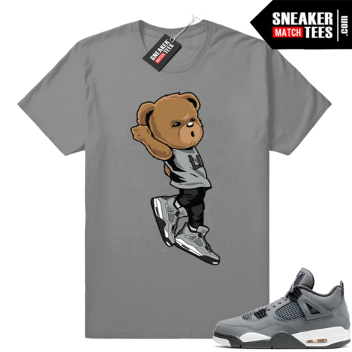 Jordan 4s tees cool grey