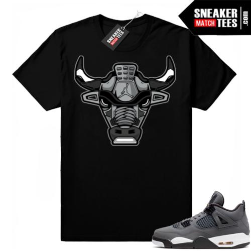 Jordan match shirt Cool Grey 4s