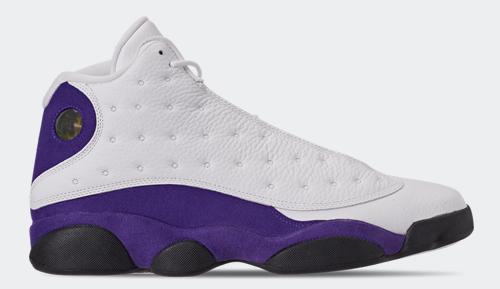 Jordan release date July Jordan 13 Lakers
